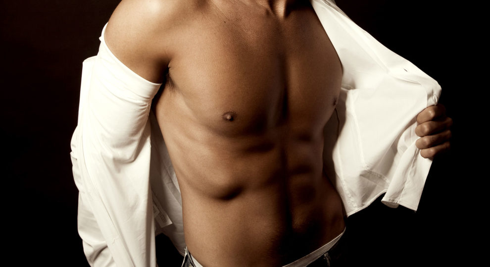 Breast reduction surgery in men